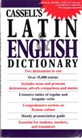 CASSELL'S LATIN-ENGLISH DICTIONARY