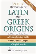 DICT. OF LATIN & GREEK ORIGINS