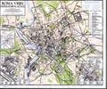MAP OF ROME-ROMA URBS